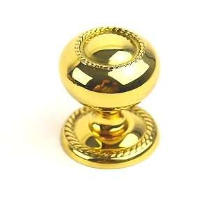 Century 15026 3 Saturn Polished Brass Knobs Cabinet