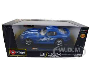 model of 1996 Dodge Viper GTS Coupe diecast model car by Bburago