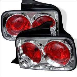 Spyder Ford Mustang 05 09 Altezza Tail Lights   Chrome