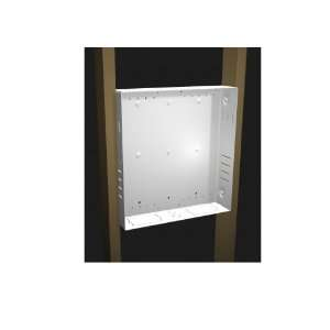 Chief Flat Panel Pre Wire In Wall Mounting Box   White