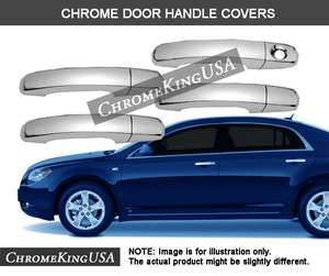 Chevy Malibu HHR Traverse GMC Terrain Chrome Door Handle Covers Trims