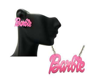 NEW Nicki Minaj Inspired Glitter Pearly Acrylic Barbie Earring