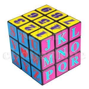 COLORS NUMBER PUZZLE GAME BRAIN TEASER MAGIC CUBE TOY