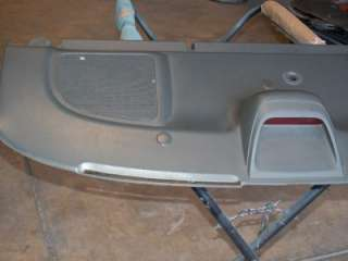Honda Civic OEM Rear Speaker Cover Panel Coupe Grey OE