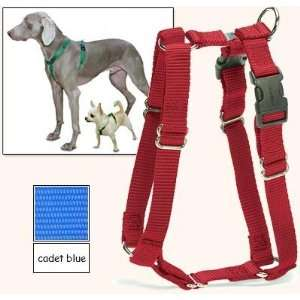 Fit Dog Harness, 5 Way Adjustability for a Perfect Fit (Cadet Blue, X