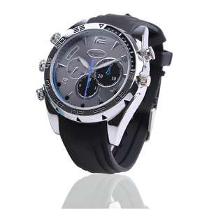 New 8GB Infrared 1080p hd watch hidden camera Waterproof Night Vision