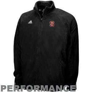 adidas North Carolina State Wolfpack Black Big Game Microfleece Full