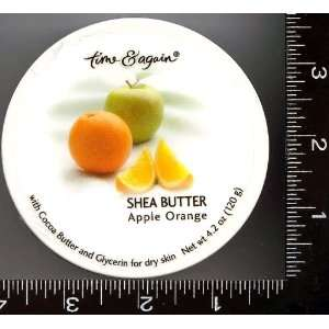 Shea Butter, Body Cream, Body Butter, ,1 , , , Apple Orange , Cream,