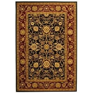 Safavieh Lyndhurst Collection LNH212G Black and Red Area Rug, 5 Feet 3