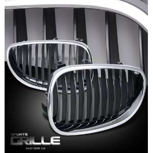Bmw 2004 2007 5 Series   E60 Chrome/Black Sport Grille