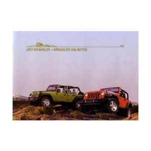 2008 JEEP WRANGLER Sales Brochure Literature Book