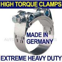 EXTREME HEAVY DUTY HOSE CLAMP 55   59mm Made in Germany