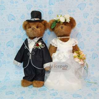 Teddy Bear Wedding favors Ring Pillow/Pen/Jewelry Box