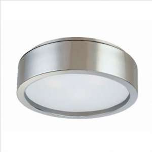 Sonneman 3721.13 Puck Satin Nickel Flush Mount