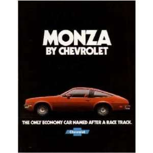 1978 CHEVROLET MONZA Sales Brochure Literature Book