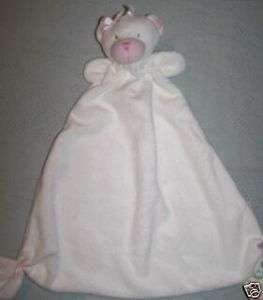 Little Me Girl Teddy Bear Buddy Security Blanket lovey