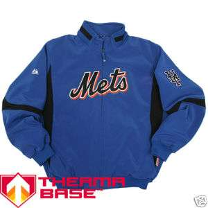Majestic New York Mets Road Therma Base Jacket Medium
