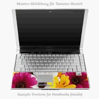 Tastatur (Inlay)   Flowers Laptop Notebook Decal Skin Sticker
