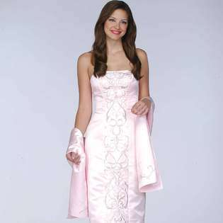 Pink Prom Dress. Strapless evening gown. Womens long evening dress