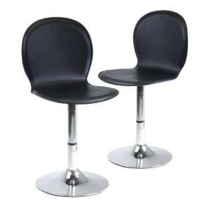 Winsome Wood Spectrum Swivel Shell Chairs, Set of 2 Furniture & Decor