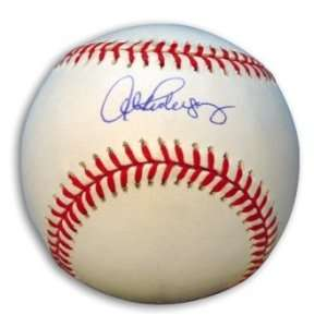 Alex Rodriguez Signed Baseball