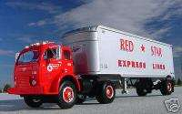 VR   RED STAR EXPRESS 3000 Semi Truck   First Gear