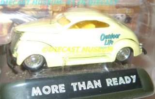 1937 37 FORD COUPE OUTDOOR LIFE DIECAST ULTRA RARE