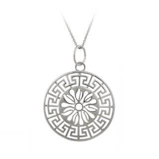 18k Yellow Gold Plated Sterling Silver Sun Medallion, 18