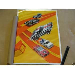 Hot Wheels 2010 Red Line Club Membership Poster RLC