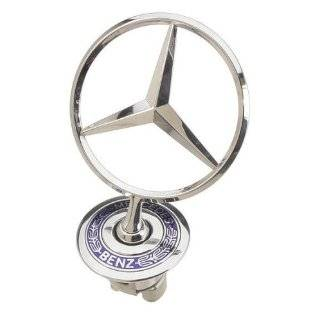 OES Genuine Mercedes Benz Hood Star Emblem Kit Automotive