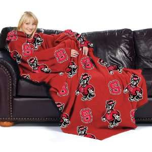 NCAA North Carolina State Wolfpack Adult Comfy Throw