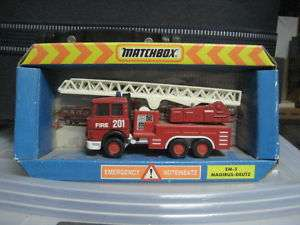 Iveco Margius deutz Fire engine Matchbox superkings