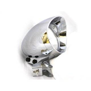 Custom Chrome Headlight Head Light for any Harley, Honda, Yamaha