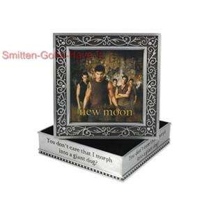 Twilight NEW Perwter WOLF PACK Jacob Sam Jewelry Box