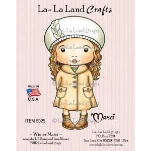 La Land Crafts Cling Rubber Stamp, Winter Marci Arts, Crafts & Sewing