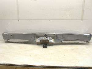 70 71 72 DODGE DART DEMON PLYMOUTH VALIANT REAR BACK BUMPER FACE BAR
