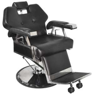 HYDRAULIC RECLINING BARBER CHAIR STYLING CHAIR BC 30B