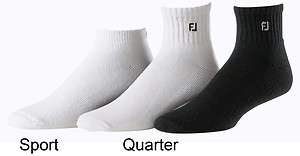 FootJoy Mens Slightly Irregular Socks Sport And Quarter 12 Pack New