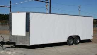 5x20 Enclosed Cargo Trailer Show Car Hauler Motorcycle Toy Racing 8