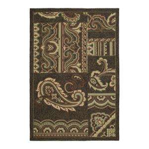 Kaleen Home & Porch Dutch IslandChocolate 5 ft. x 7 ft. 6 in. Area Rug