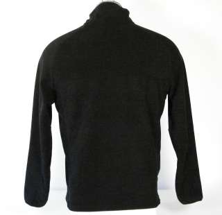 Nautica Mens Black Fleece Jacket Medium M Med NWT $79