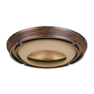 Hampton Bay Alta Loma Dark Ridge Bronze Trim For 6 In. Recessed Can