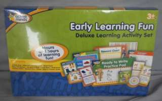 Learning Fun Delux Kit Educational Kids Toddler 3+ School NEW