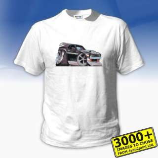 KOOLART 0724 Ford Mustang Boss 350 Custom Adult t shirt