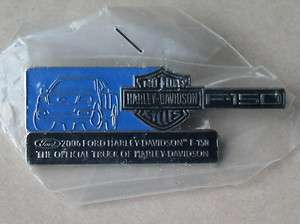 HARLEY DAVIDSON FORD FSERIES SUPER DUTY 2006 TRUCK PIN