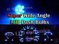 Toyota Camry Gen 3 & 4 Blue 6 LED Dash Cluster Kit, 4/1