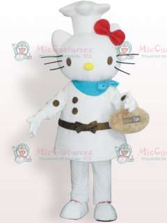 Cheap Hello Kitty Cook Plush Adult Mascot Costume