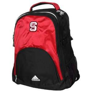 adidas North Carolina State Wolfpack Scarlet Black Campus Backpack