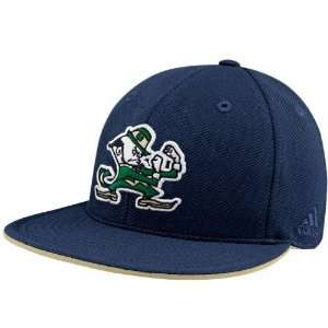 com adidas Notre Dame Fighting Irish Navy Blue Pique Mesh Fitted Hat