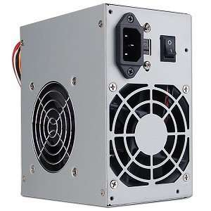 PoWork 600 Watt 20+4 Pin Dual Fan SATA/ATX Power Supply Electronics